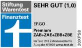 ERGO Premium Stifung Warentest 06 2020 1