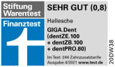 Hallesche GIGA Dent Stifung Warentest 04 2021 1